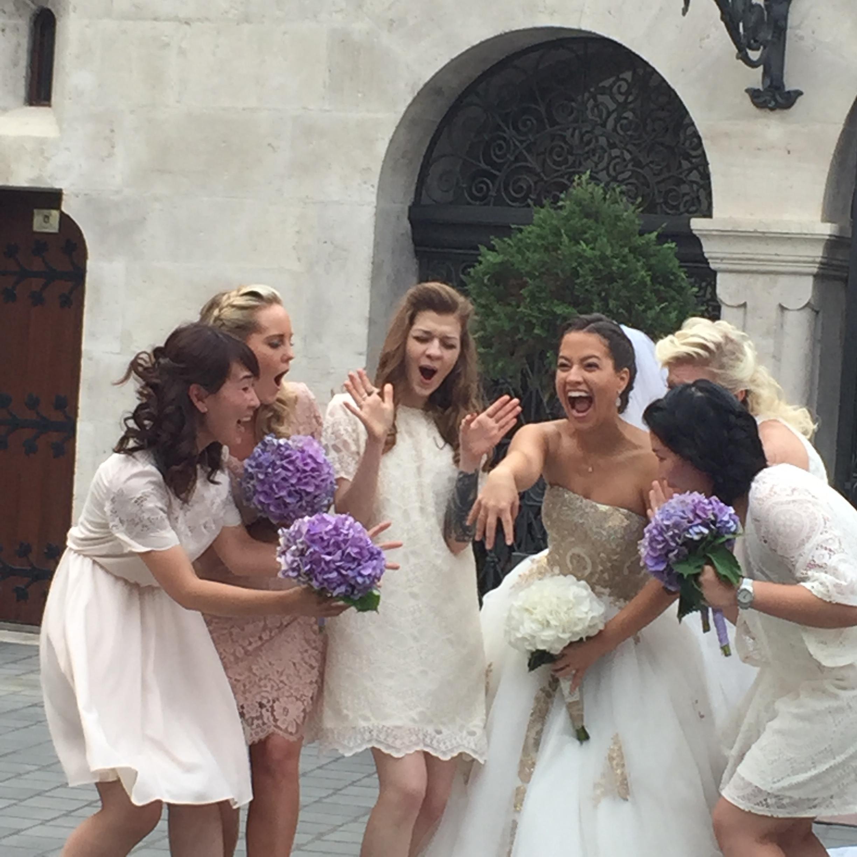 新しい記事: <br>ブダペストの花嫁