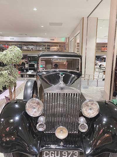 新しい記事: 日本自動車博物館を訪れて